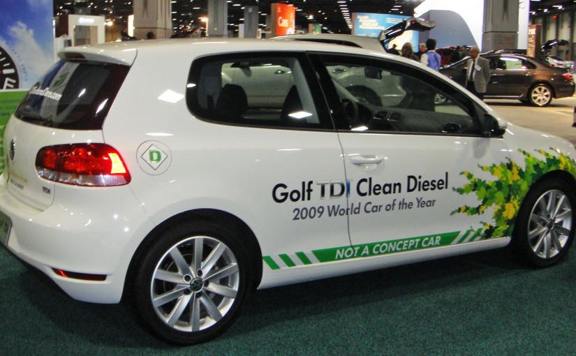 VW Golf TDI Abgas-Skandal